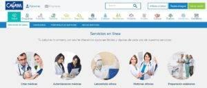 asignacion citas medicas cafam en linea internet